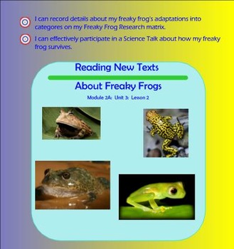 Expeditionary Learning Engage NY Module 2a Unit 3 Lesson 3 grade 3