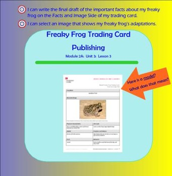 Expeditionary Learning Engage NY Module 2a Unit 3 Lesson 4 grade 3