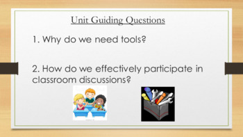 Expeditionary Learning First Grade PowerPoint Module 1 Unit 1