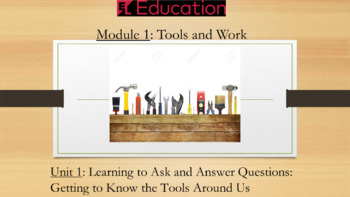 Expeditionary Learning First Grade PowerPoint Module 1 Unit 1 (Editable)