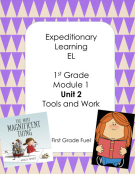 Expeditionary Learning First Grade Powerpoint Module 1 Unit 2 (Editable)