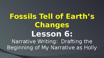 Expeditionary Learning Fossils Tell of Earth's Changes M2 Unit 3 Lessons 6-10