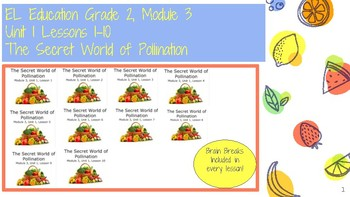 Expeditionary Learning Grade 2 M3 U1 Lessons 1-10