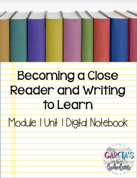 Expeditionary Learning Grade 3 Module 1 Unit 1 Digital Notebook (Google Drive)