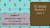 Expeditionary Learning Grade 4 Module 1 Unit 1