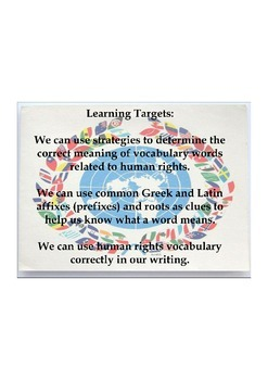 Expeditionary Learning Grade 5, Module 1, Unit 1, Lesson 5 Flipchart