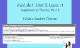 Expeditionary Learning Grade 5, Module 1, U3, L1 Sample Fl