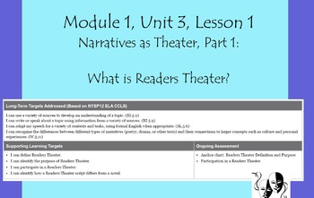 Expeditionary Learning Grade 5, Module 1, Unit 3 Flipchart
