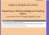 Expeditionary Learning Grade 5, Module 2B, Unit 1 Flipchar