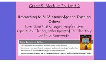 Expeditionary Learning Grade 5, Module 2B, Unit 2 Flipchart