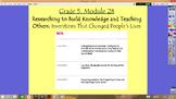 Expeditionary Learning Grade 5, Module 2B, Units 1-3 Flipc