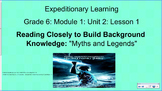 Expeditionary Learning, Grade 6, Module 1, Unit 2