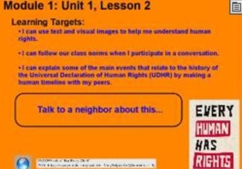 Expeditionary Learning Grade 5 ELA Module 1 Unit 1 Flip Chart Lessons