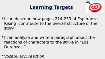 Expeditionary Learning Module 1 Unit 2 Lesson 7 Grade 5