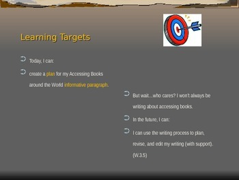 Expeditionary Learning Module 1, Unit 3, Lesson 10