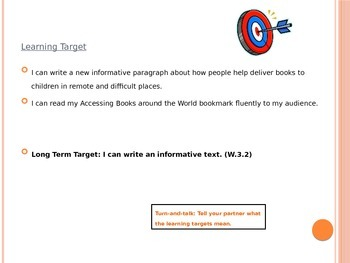 Expeditionary Learning Module 1 Unit 3 Lesson 17