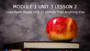 Expeditionary Learning ELA Module 1 Unit 3 Lesson 2 Powerpoint: 3rd Grade