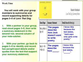 Expeditionary Learning Module 1B, 4th grade ELA, Unit 1, Lesson 2