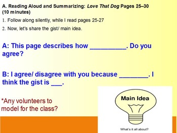 Expeditionary Learning Module 1B, 4th grade ELA, Unit 1, Lesson 6