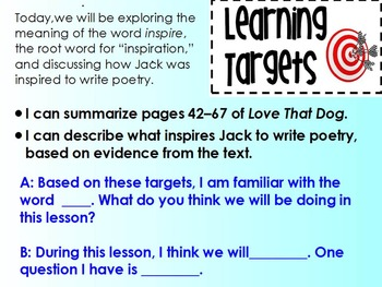 Expeditionary Learning Module 1B 4th grade ELA Unit 2 Lesson 3