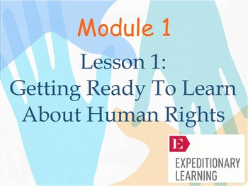 Expeditionary Learning Module 1 Lesson 1.1 Grade 5