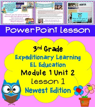 Expeditionary Learning EL Education 3rd Grade Power Point M1U2 Lesson 1