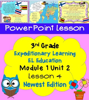 Expeditionary Learning EL Education 3rd Grade Power Point M1U2 Lesson 4