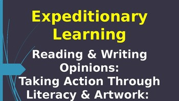 Expeditionary Learning--Pollinator Characters M4 Unit 3 Lessons 6-12