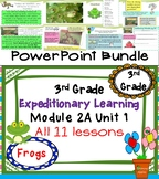 Expeditionary Learning 3rd Grade PowerPoint Bundle Module 2A Unit 1 Lessons 1-11