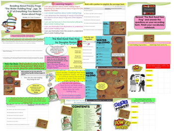 Engage NY Expeditionary Learning 3rd Grd Module 2A Unit 2 PowerPoint Lesson 1-13