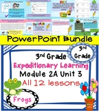Expeditionary Learning 3rd Grade PowerPoint Bundle Module 2A Unit 3 Lessons 1-12