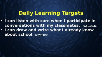 Expeditionary Learning  Schools & Community M1 Unit 1 Lessons 1-5