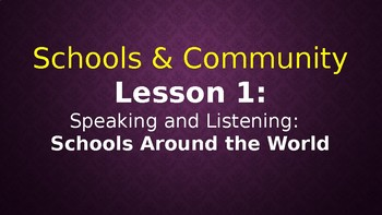Expeditionary Learning  Schools & Community Module 1 Unit 2 Lessons 1-5
