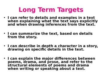Expeditionary Learning Unit 1B - Grade 4 Lessons 4 and 5