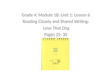 Expeditionary Learning Unit 1B, Grade 4 Module 1 Lessons 6 and 7