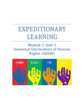 Expeditionary Learning Unit Plan Module 1 Unit 2: UDHR 5th Grade