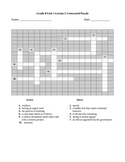 Expeditionary Learning Vocabulary Crossword Puzzle Bundle,