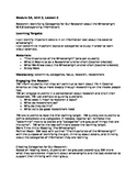 Expedtionary Module 2A Unit 2 lesson 5