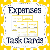Expenses Task Cards