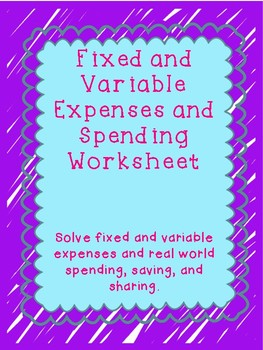 budget easy   Maraton ponderresearch co besides Solved  Data Unit Sales   30 000 Units Selling Price Per U also Fixed And Variable Expenses Worksheet Teaching Resources   Teachers besides Money Management Kit Budget Track Spending Manage Accounts   Etsy furthermore In School Suspension Worksheets I on Behavior Chain ysis also Image result for fixed and variable expenses worksheets   Teaching together with chapter 8   Chapter 8 Question 1 Sophia owns and operates a moreover  further Budget Worksheet  Money  Dates  In e  Expenses  Fixed  Variables additionally HealthCare Templates as well Small Business In e And Expense Worksheet Spreadsheet Ex les For moreover College Student Budgeting Worksheet Future Pinterest College also In e And Expense Worksheet Template S le Sheet Templates – The as well chapter 8   Chapter 8 Question 1 Sophia owns and operates a in addition Monthly Living Expenses Worksheet Forte Euforic Co Condo Spreadsheet in addition . on fixed and variable expenses worksheet