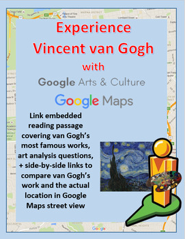 Experience Vincent van Gogh's art with a Google Maps Virtual Field Trip