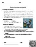 Expérience: les boussoles (French / Science: making a compass)