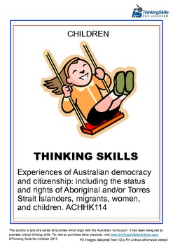 Experiences of Australian Democracy And Citizenship – Chil