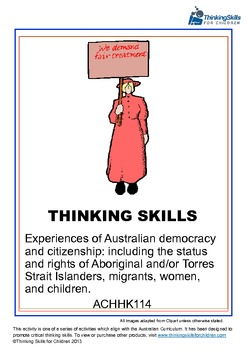 Experiences of Australian Democracy And Citizenship - Women