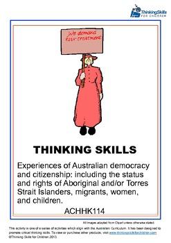 Experiences of Australian Democracy And Citizenship - Women