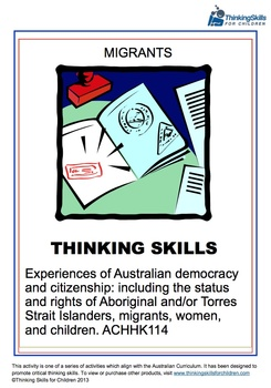 Experiences of Australian Democracy and Citizenship – Migrants
