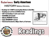 Experiencing Early American History: Primary Source Readings / Middle School