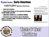 ExperiencingEarly American History: MC Tests & Review / Middle School