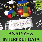 Analyze and Interpret Data FREEBIE: Graph, Analyze, and Draw Conclusions