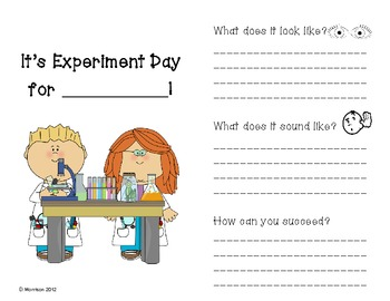 Experiment Day: Setting Expectations